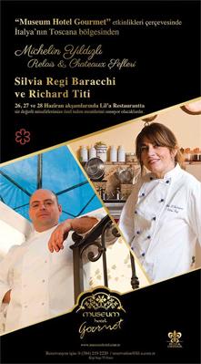 Michelin Starred Relais & Chateaux Chefs Chef SILVIAREGI BARACCHI & RICHARD TITI