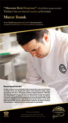 Chef MURAT BOZOK Murat Bozok's Kitchen