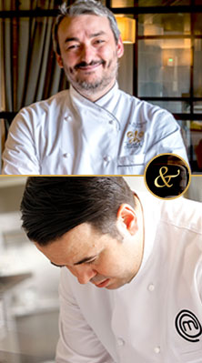 As a part of Museum Hotel Gourmet activities, well known Relais & Chateaux Chef Andrea Campai, reputed from Toscana region of Italy and one of the most important signature chefs from Turkey Murat Bozok are going to meet up.