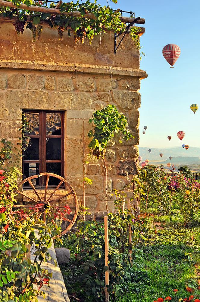 Museum Hotel Cappadocia EKOLOJİK BAHÇE