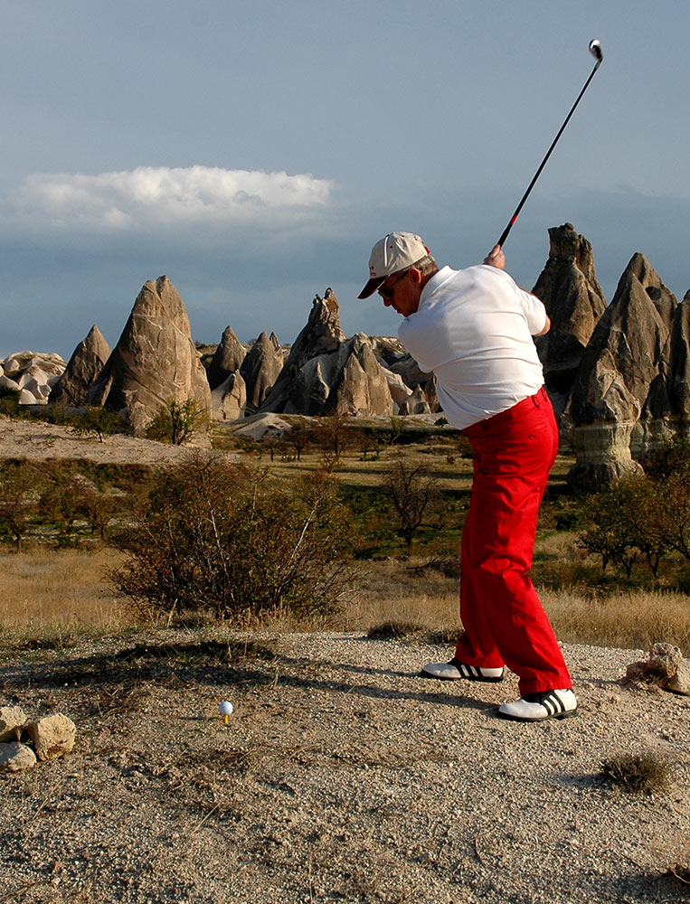 Museum Hotel Cappadocia CROSS GOLF – SWING IN THE VALLEY