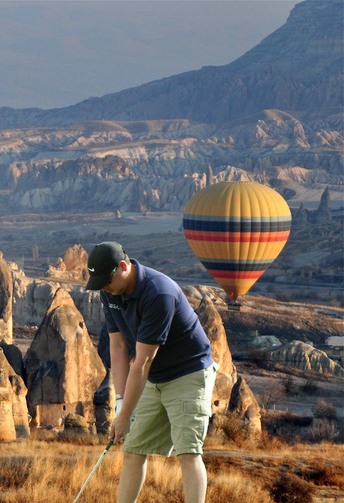 Museum Hotel Cappadocia CROSS GOLF – SWING IN THE VALLEY