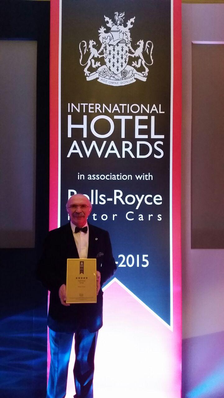 Awards museum hotel best cappadocia cave hotel for Best hotel awards