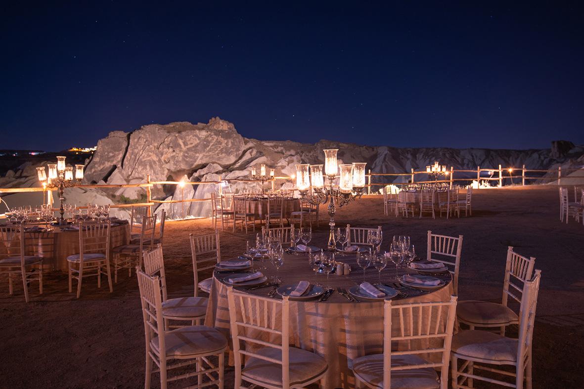 Museum Hotel Cappadocia CATERING & EVENTS